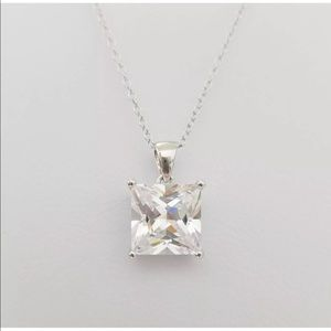 Jewelry - Lab Diamond 💎 Solitaire Pendant Necklace